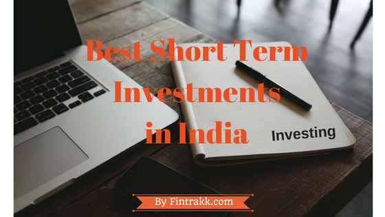 What are the best short term investment options