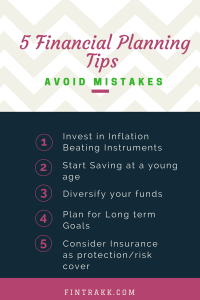 Financial Planning tips, Finance tips