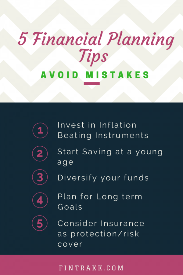 5 Financial Planning Tips !