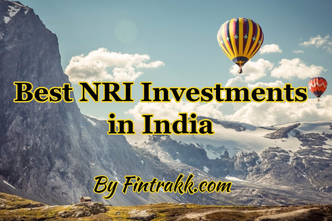 NRI Investments in India,NRI investments,best NRI investments,NRI investment