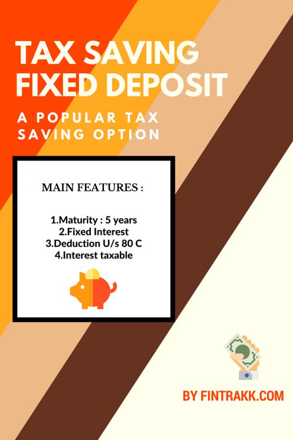 Tax saving FD,Tax saver FD,Tax saving options,section 80 C,tax saving investments