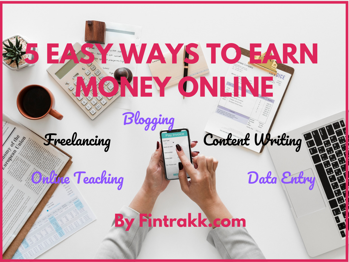 5 Easy ways to Make Money from Home: Get started!