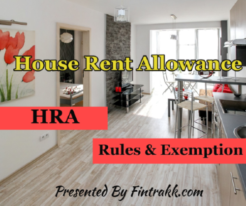 HRA rules, HRA exemption, HRA,House rent allowance