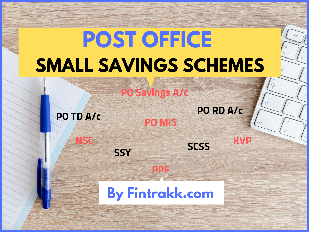 Post Office Small Saving Schemes in India