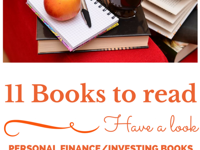 11 Best Personal Finance/Investing Books for You to Read !