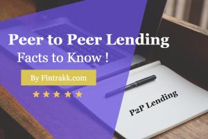P2P Lending,peer to peer lending