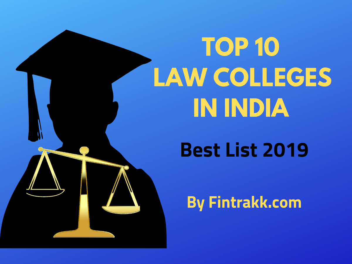 Top 10 Law Colleges in India: Best List 2020