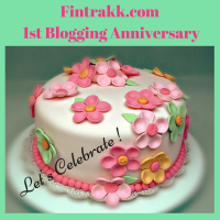 Fintrakk : 1 Year Blogging Anniversary! Let's celebrate!