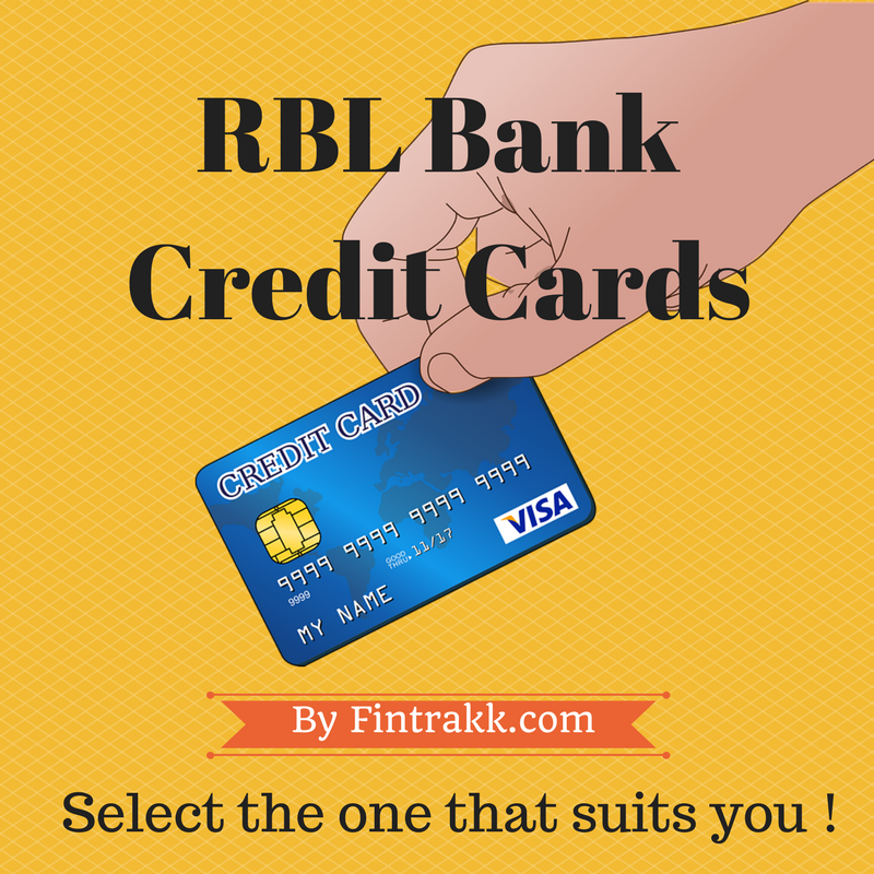 RBL Bank Credit Card Review 2018-Apply Online !