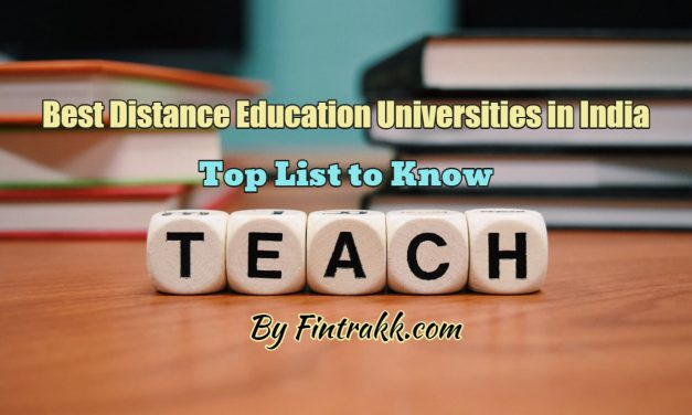 Best Distance Education University in India: Top List 2021