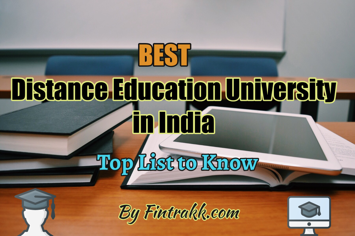 Best Distance Education University in India: Top List 2020