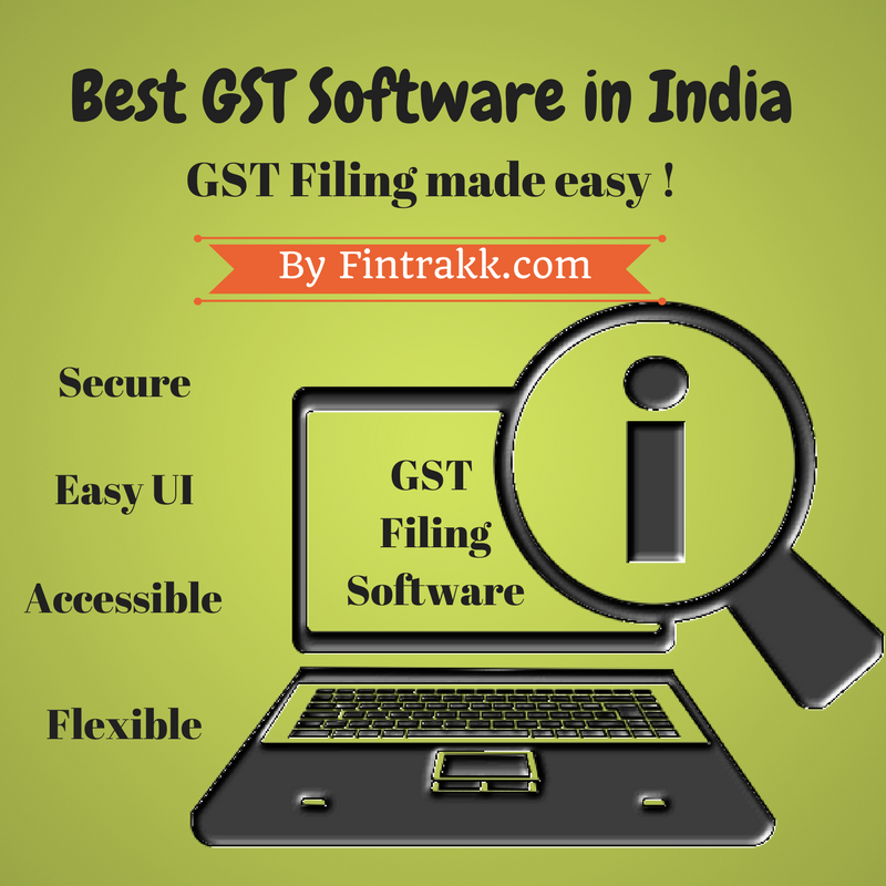 Best GST Software : Top List of GST Filing Software in India !