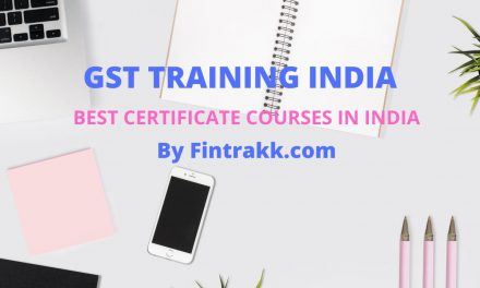 GST Training India : Best GST Certificate Courses to look for !
