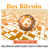 Buy Bitcoin with Credit card or Debit card instantly !
