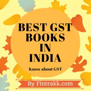 best GST books,GST books India