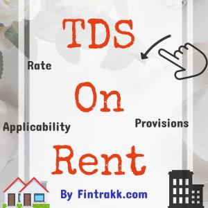 TDS on Rent,TDS