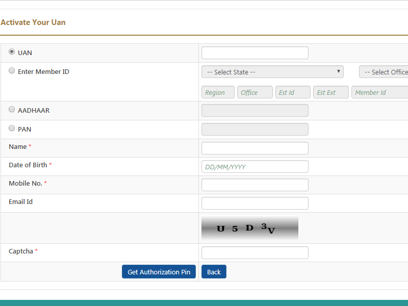UAN Status, how to get UAN number, get UAN, generate UAN