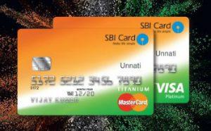SBI Unnati card,SBI Unnati credit card