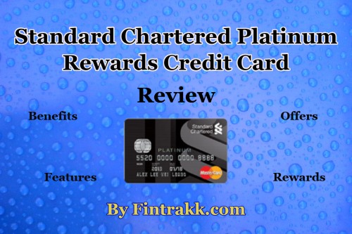 standard chartered card,Platinum rewards credit card