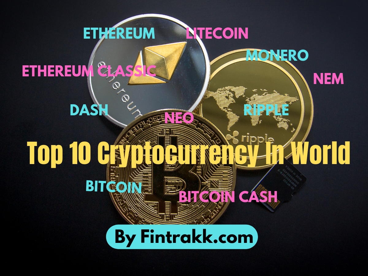 Top 10 Cryptocurrency To Invest Best List Fintrakk