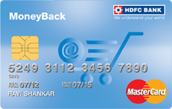 HDFC Moneyback credit card,HDFC Moneyback card