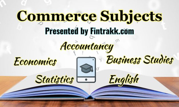 What are the Main Subjects in 11th Commerce? A Complete List