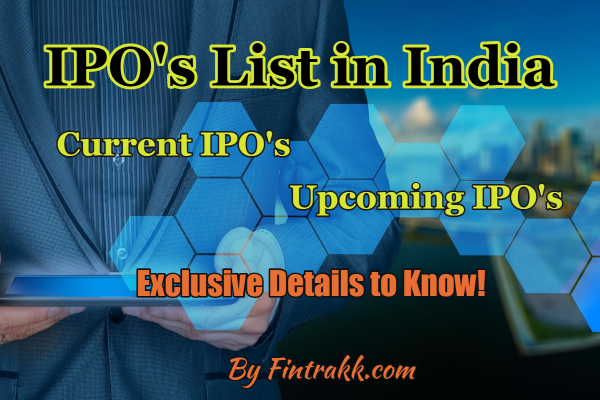 current IPO, upcoming IPO, IPO list, list of IPO's, latest IPO