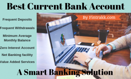 Best Current Bank Account for Small Business in India