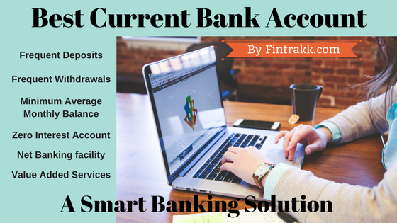 best current bank account, best current account India, best current account,current account