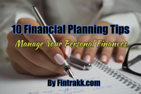 10 Financial Planning Tips: Manage Your Personal Finances