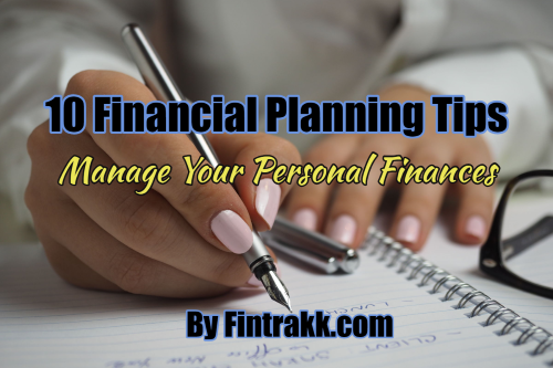 Financial planning tips, financial tips, personal finance tips, financial planning