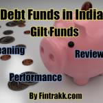 Gilt Funds vs Debt funds, Gilt Funds, Debt funds, mutual funds