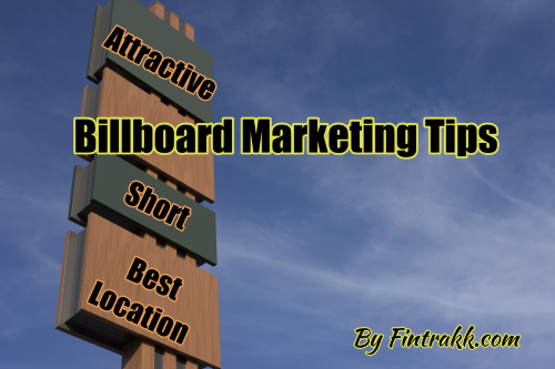 Billboard marketing tips, Billboard marketing, Billboard advertising, marketing