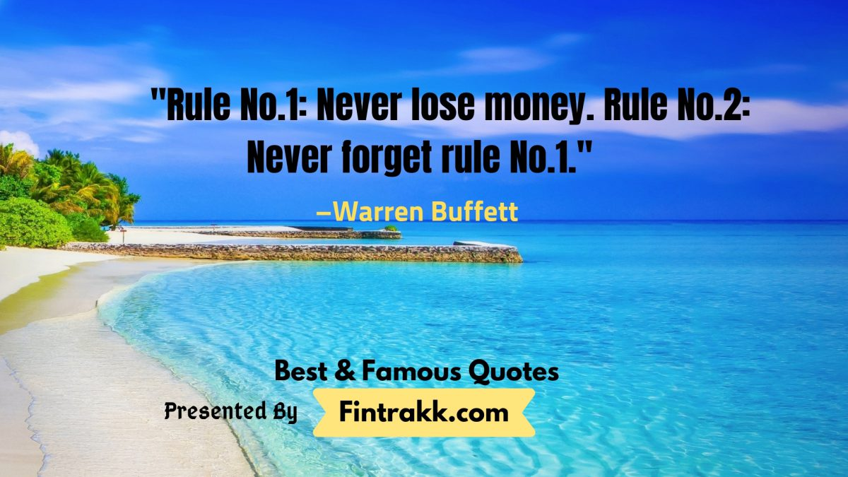 Famous Warren Buffett Quotes on Investing
