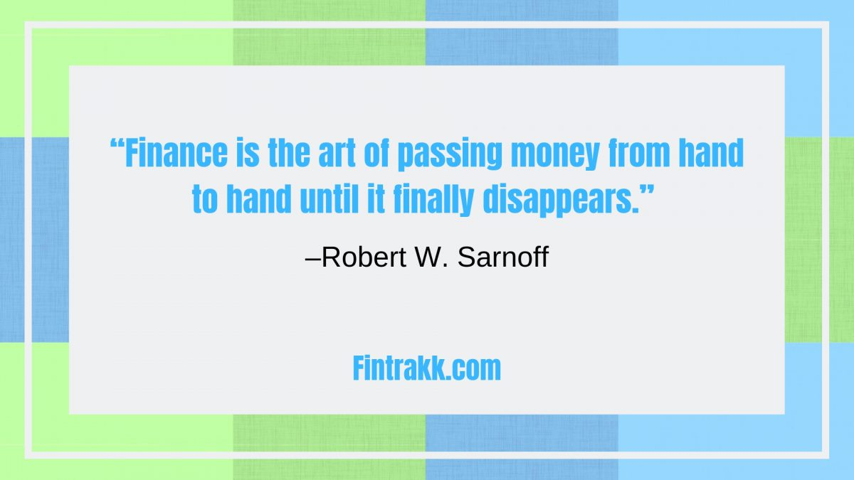Best Finance Quotes, Financial quotations