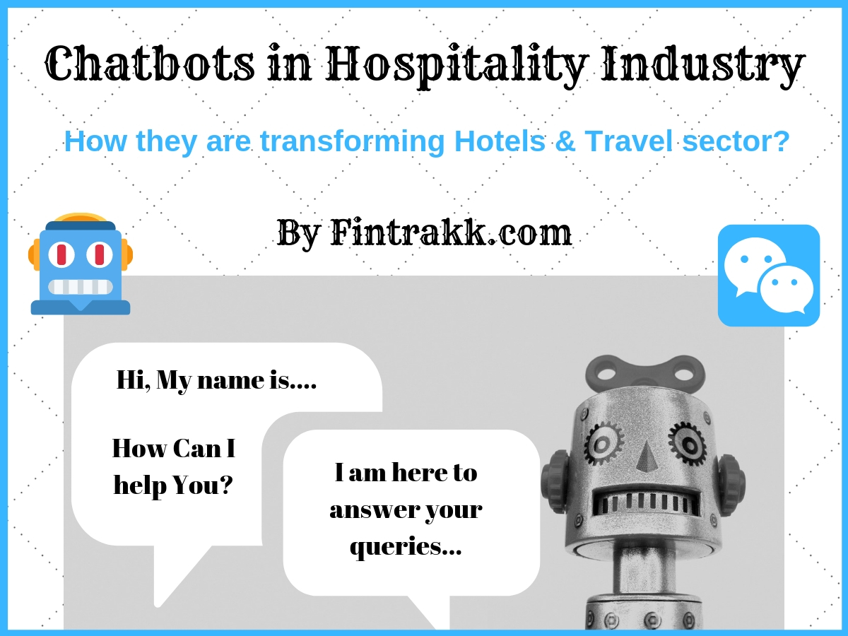 How Chatbots are taking over the Hospitality Industry?