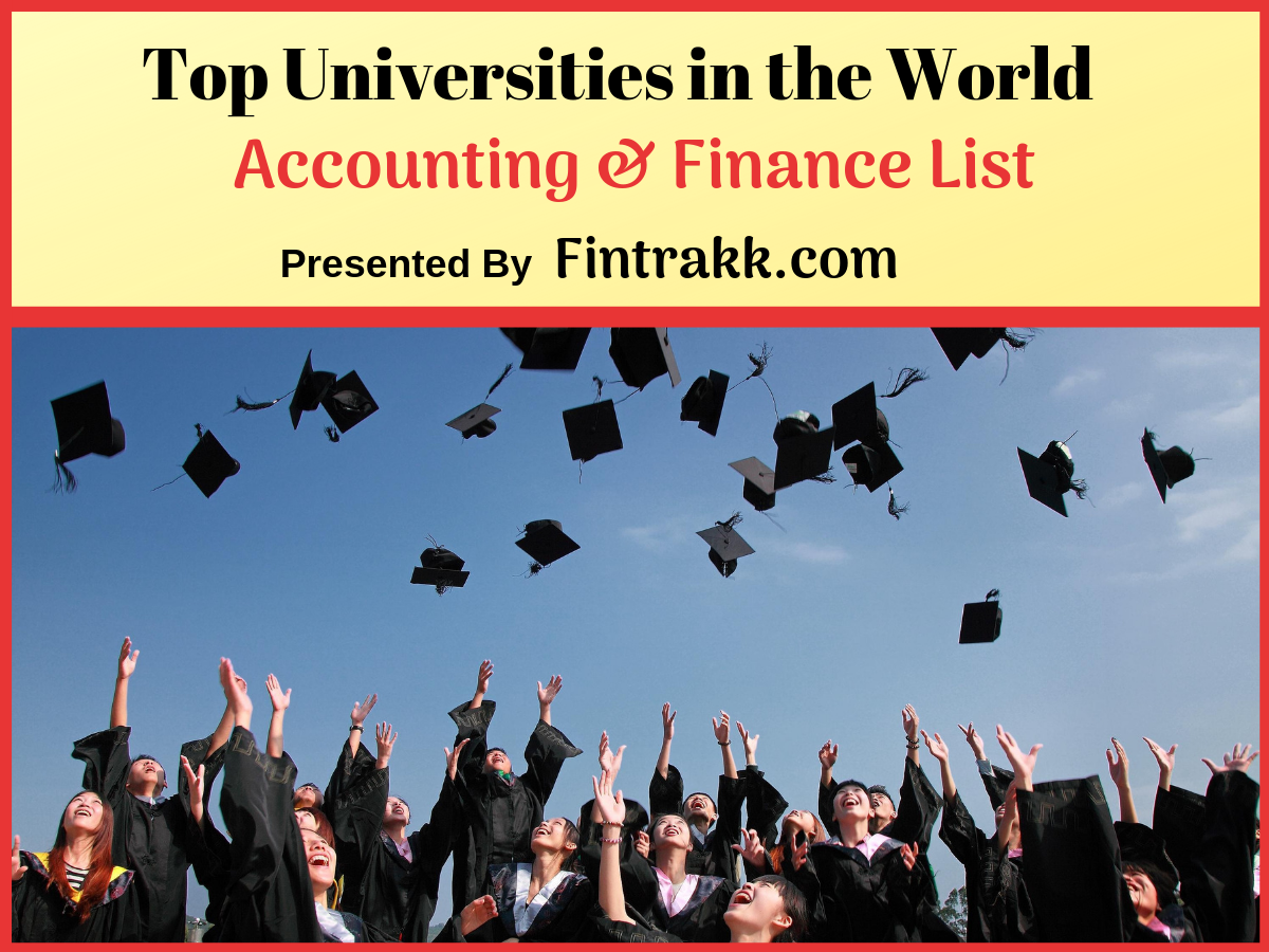 Top Universities for Accounting and Finance in the World: Best Rankings