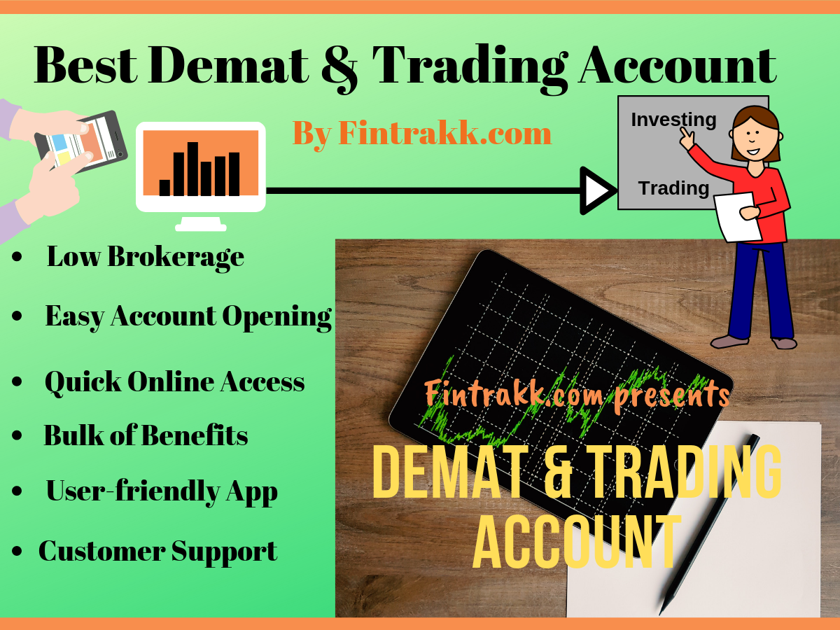 Best Demat Account with Lowest Brokerage Charges in India: Review 2021