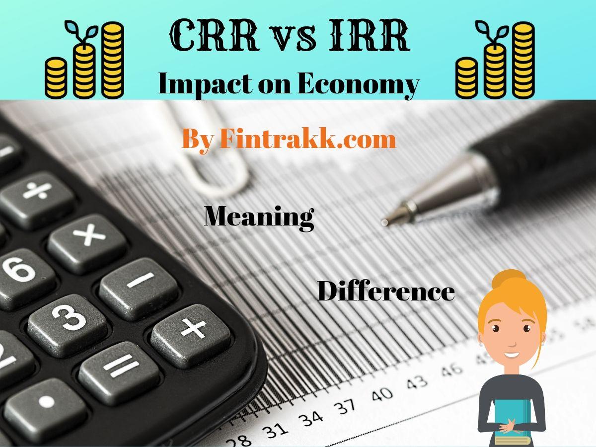 What is Cash Reserve Ratio & Statutory Liquidity Ratio? CRR vs SLR