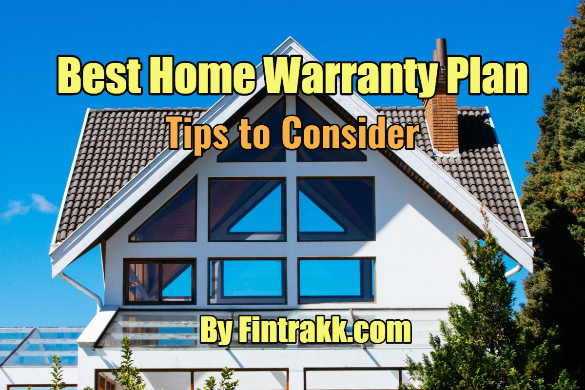 Home warranty plan