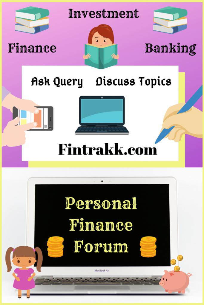 Personal Finance Forum India, investing forum