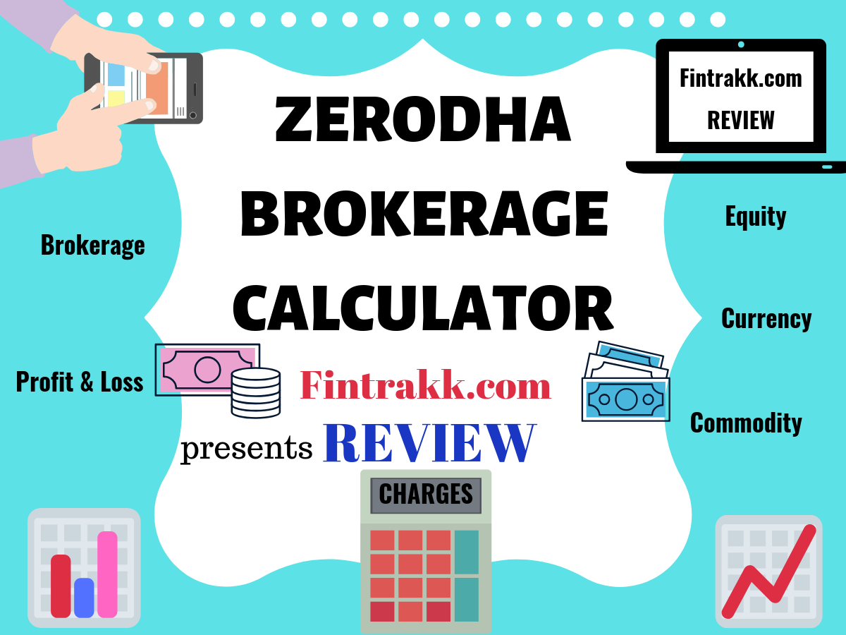 Zerodha Brokerage Calculator: Calculate Charges on Trading