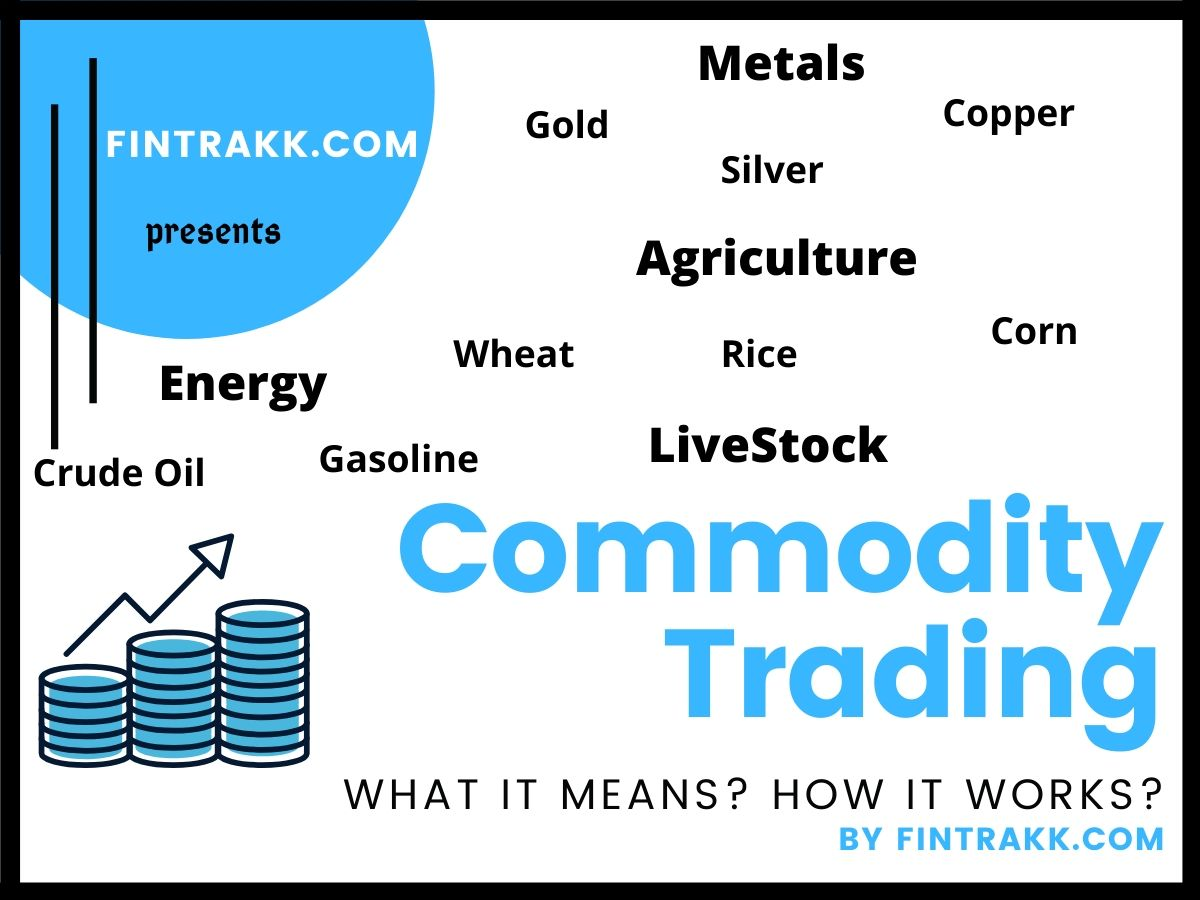 Commodity Trading in India, meaning, types