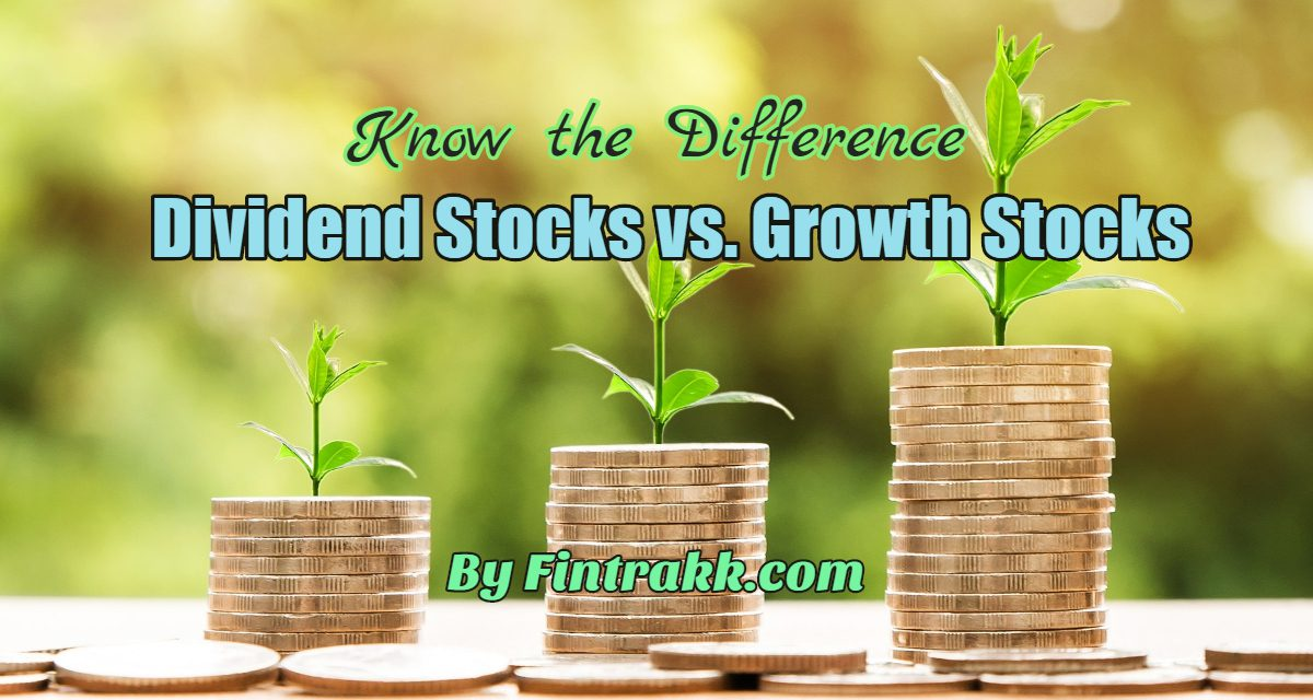 Dividend Stocks vs Growth Stocks: Know the Differences!