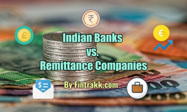 Why Indian Banks don't Compete with Remittance Companies?