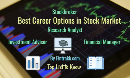 Best Career Options in Stock Market India: Top List 2020