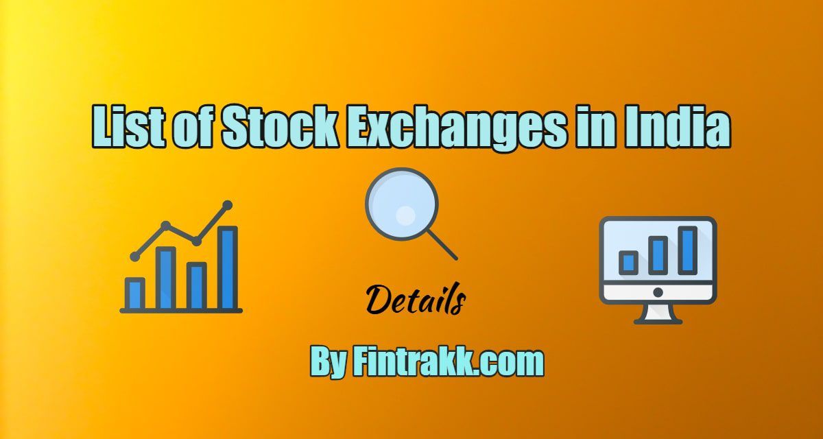 List of Stock Exchanges in India: How many are there?