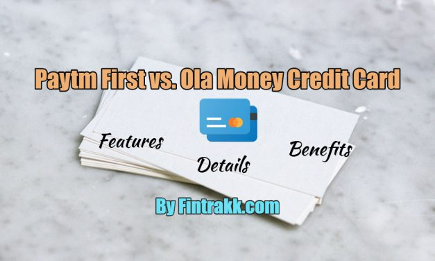 Paytm First vs Ola Money SBI Credit Card: Key Differences