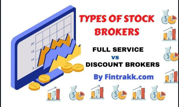 Types of Stock Brokers – Full Service vs. Discount Brokers