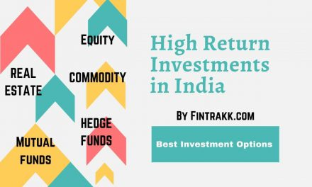 High Return Investments in India: 6 Best Investment Options 2021